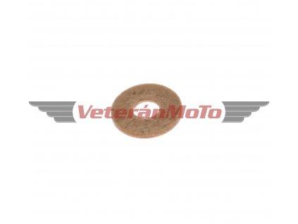 Těsnění pod jehlový ventil karburátoru JAWA 50 PIONÝR 05, 20, 21, 23, BABETTA / BABETA 207, 210, 225