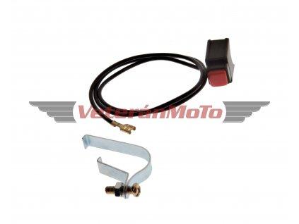 Tlačítko vypínání motoru / chcípák BABETTA / BABETA 207, 210, 225, PIONÝR