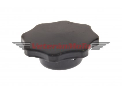 Zátka / víčko nádrže originální - černá BABETTA / BABETA 210, 225