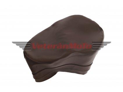 Potah sedla s bočním vyklápěním  - tmavě hnědý PIONÝR 550