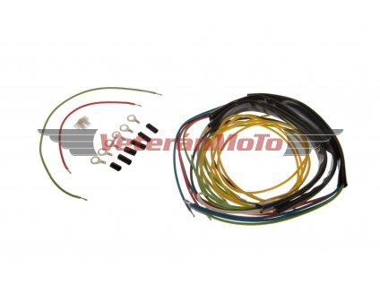 Elektroinstalace / kabeláž kompletní JAWA 50 PIONÝR 555