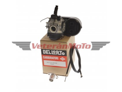 Karburátor DELLORTO s bočním sáním, přírubou a bowdenem BABETTA / BABETA 207, 210, 225