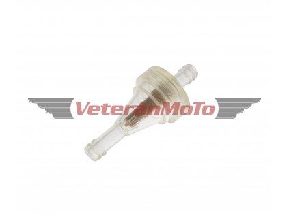 Palivový / benzinový filtr kulatý IRP na hadičku s průměrem 5, 6