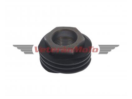 Matice primárního kola / klikové hřídele s kolem pohonu otáčkoměru 3z. - plast JAWA 350/634-640