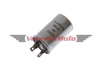 Přerušovač směrovek / blinkrů 6V se dvěma kontakty