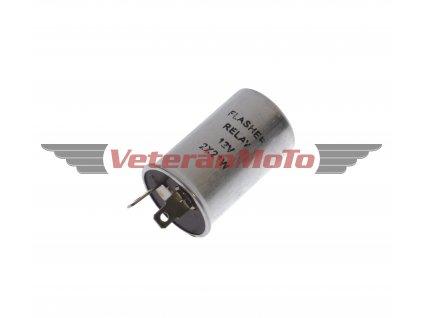 Přerušovač směrovek / blinkrů 12V se dvěma kontakty
