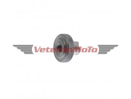 Matice bowdenu / lanka brzdy M6- rádlovaná hliníková