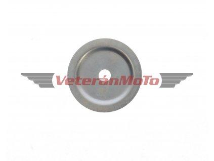 Podložka / miska / krytka ložiska pravého víka motoru - zapalování JAWA 50 PIONÝR 05, 20, 21, 23
