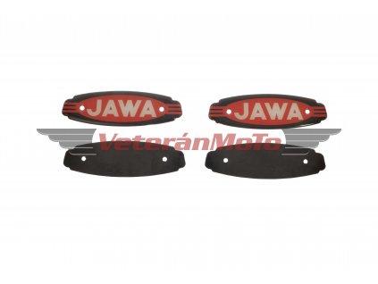 Loga na nádrž kompletní - sada JAWA 250/592, CALIFORNIAN