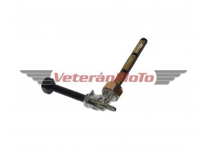 Palivový / benzinový kohout / kohoutek s převlečnou maticí M22x1 s bočním vývodemKORÁDO