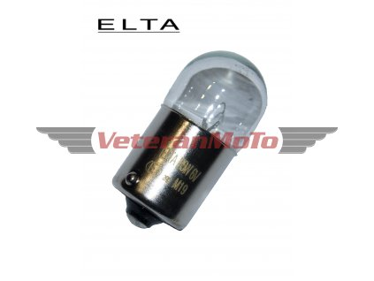 Žárovka 6V 10W Ba15s - ELTA