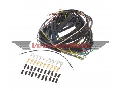 Elektroinstalace /kabeláž kompletní se spínací skříňkou v masce JAWA KÝVAČKA, ČZ 175-250/453-455