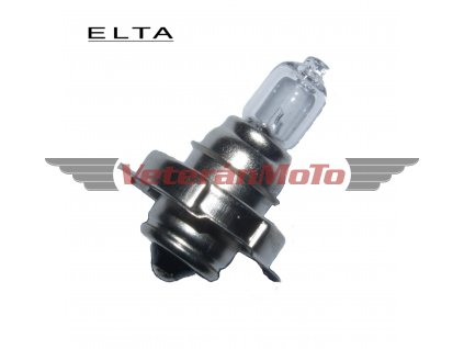 Žárovka 6V 15W P26s halogenová - ELTA