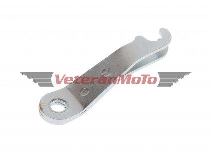 Páčka předního brzdového klíče - zinek JAWA 50 PIONÝR 550