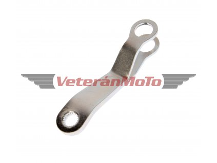 Páčka zadního brzdového klíče - zinek JAWA 50 PIONÝR 550