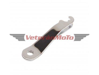 Páčka předního brzdového klíče - chrom JAWA 50 PIONÝR 550