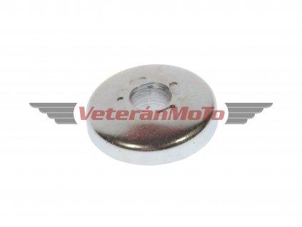 Krytka / víčko předního kola - zinek JAWA 50 PIONÝR 550