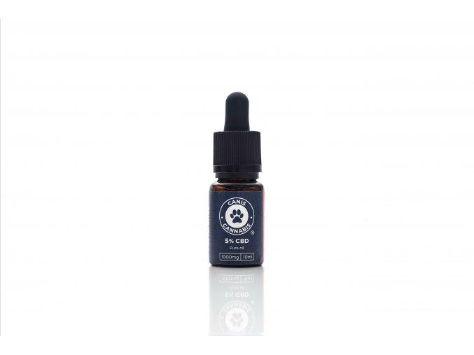 Pure 5% CBD olej pre psov - CANIS CBD