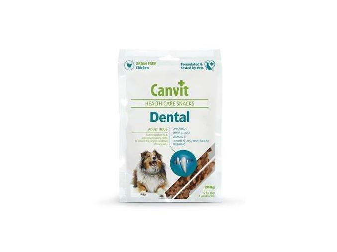 Pamlsok Canvit Health Care dog Dental Snack 200 g