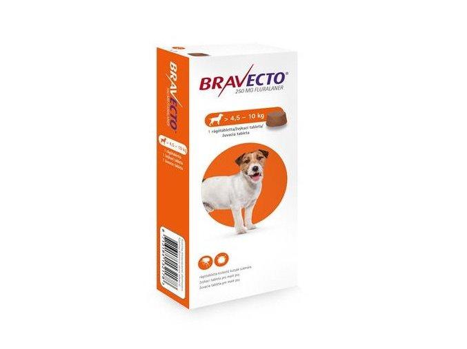 Bravecto Dog S 250 mg - žuvacie tablety