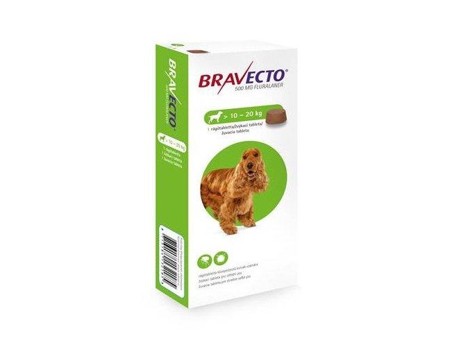 Bravecto Dog M 500 mg - žuvacie tablety