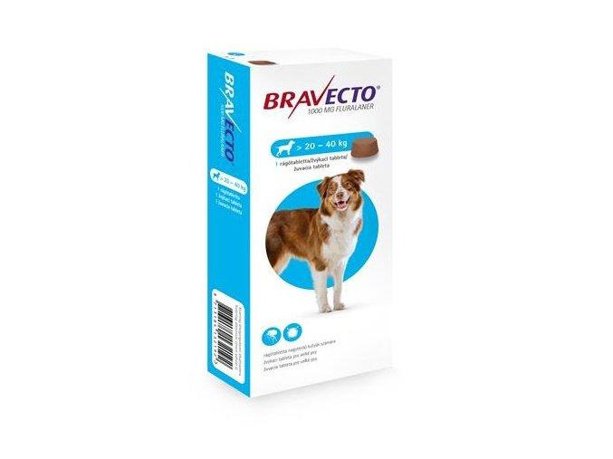 Bravecto Dog L 1000 mg - žuvacie tablety