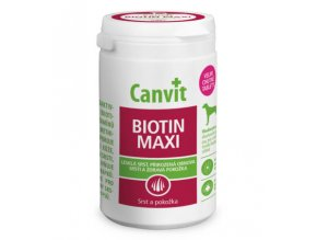 Canvit Biotin Maxi pre psy - 76 tabliet, 230 g
