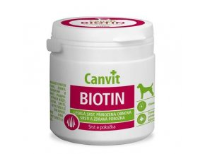 Canvit Biotin pre psy - 100 tabliet, 100 g