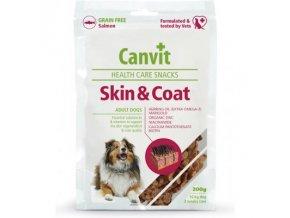 Pamlsok Canvit Health Care dog Skin & Coat Snack 200 g
