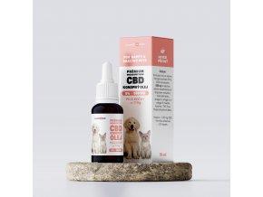 Olej konopný 5% CBD 10 ml pre psy a mačky do 11 kg