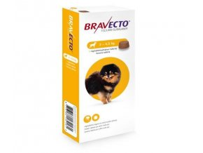 Bravecto Dog XS 112,5 mg - žuvacie tablety