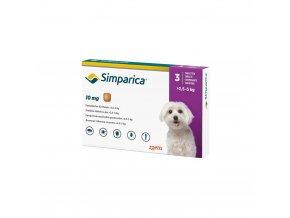 Simparica 10 mg - žuvacie tablety pre psy