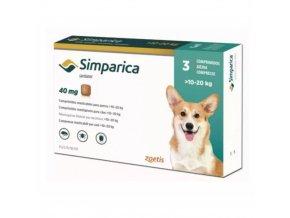 Simparica 40 mg - žuvacie tablety pre psy