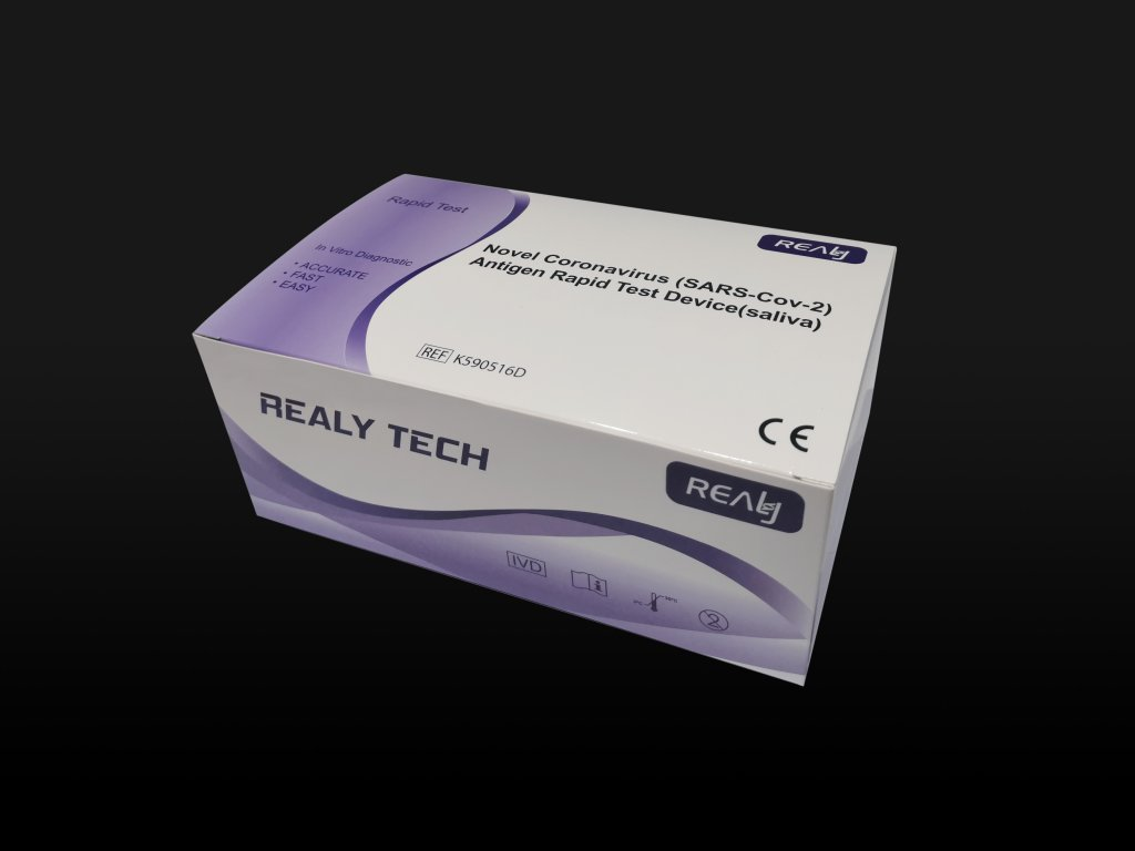 REALY TECH Rapid Test | antigenní test na koronavirus (ze slin)