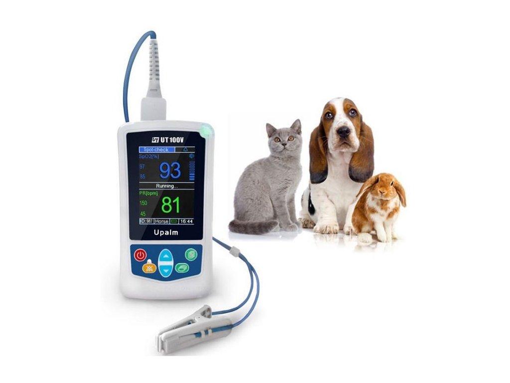 pulsni oxymetr veterinarni utech 353