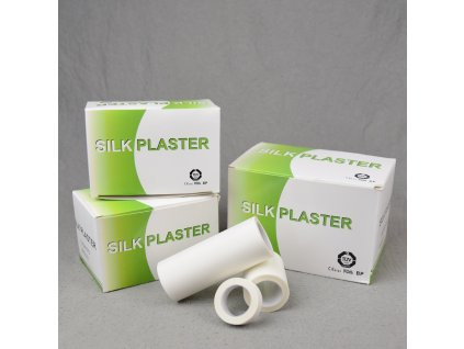 Hedvábná náplast - Silk plaster (Velikost 7,5 cm x 4,5 m)