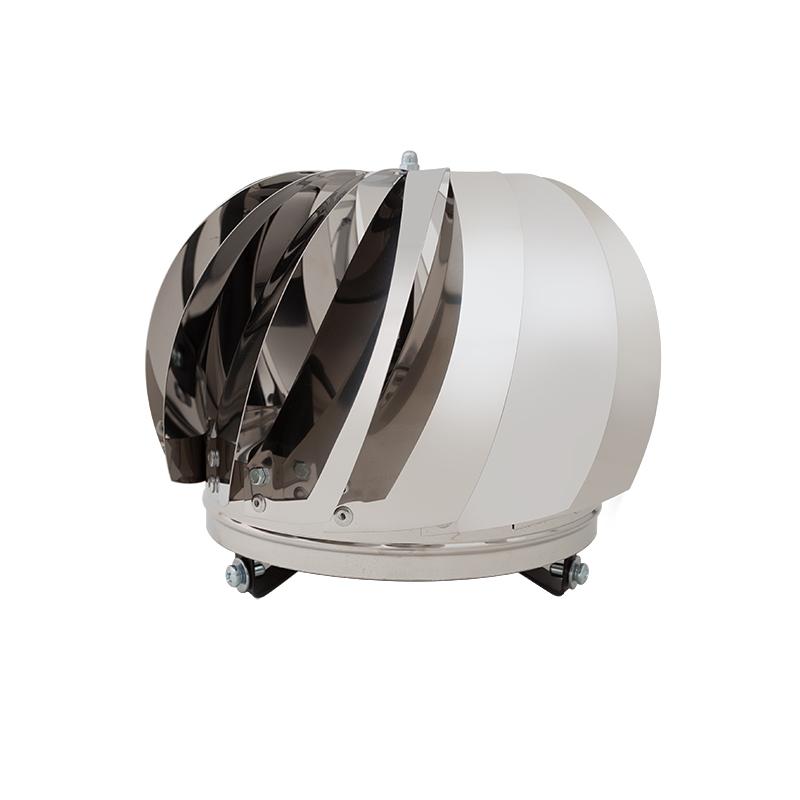 Ventilační hlavice VV-C nerezové