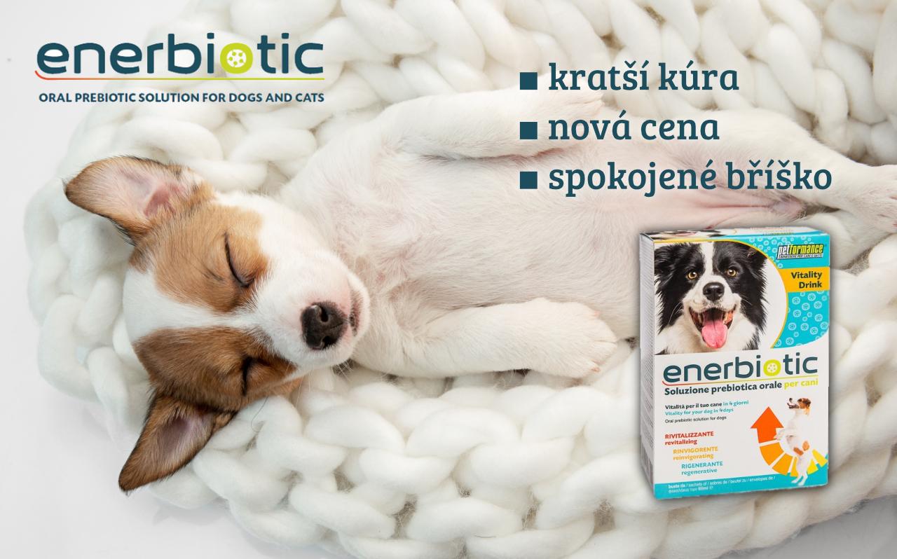 Enerbiotic pro psy v novém balení