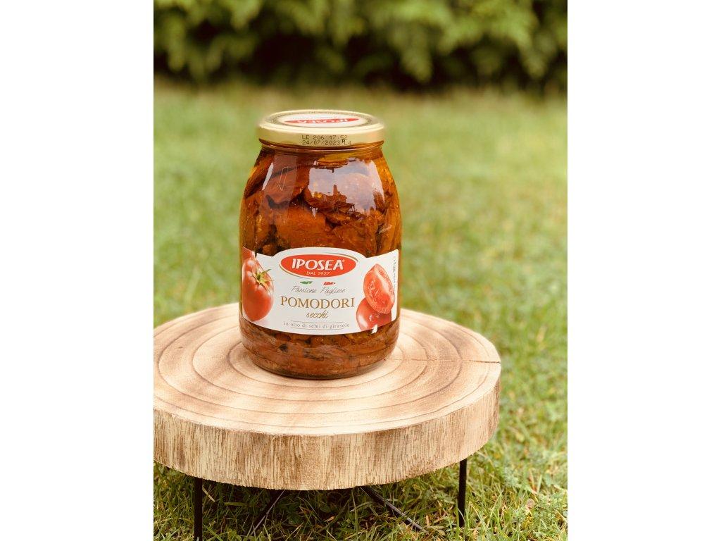 Sušená rajčata IPOSEA ve slunečnicovém oleji 900g