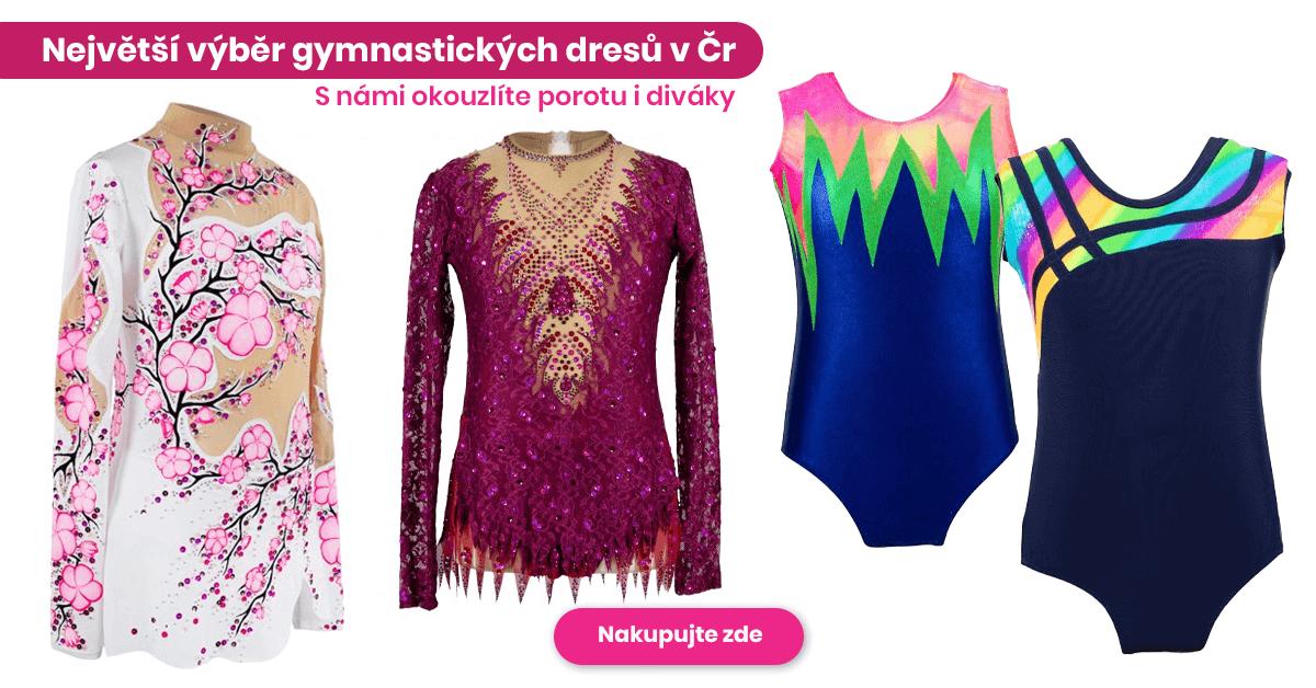 Největší výběr gymnastických dresů v ČR