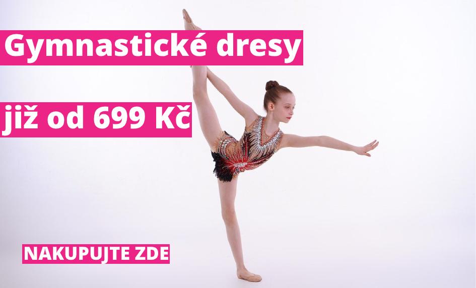Gymnastické dresy již od 699 Kč