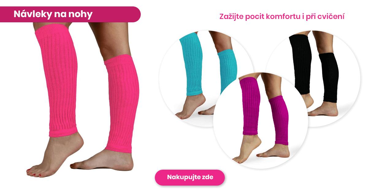 Návleky na nohy - Zažijte pocit komfortu i při cvičení