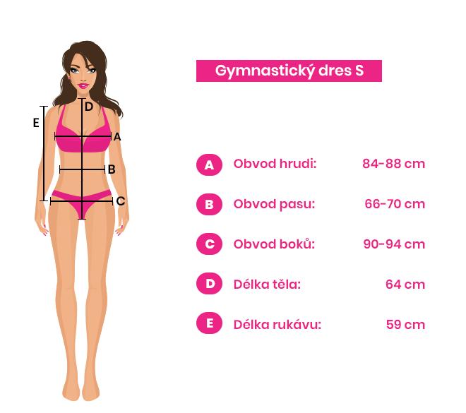 Gymnastický dres S