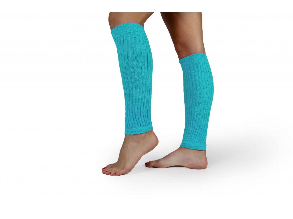 Návleky na nohy VFstyle 35 cm tyrkysové