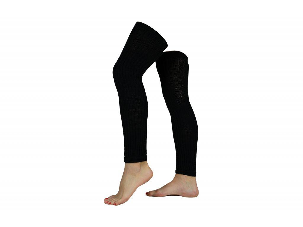 Návleky na nohy VFstyle 80 cm černé