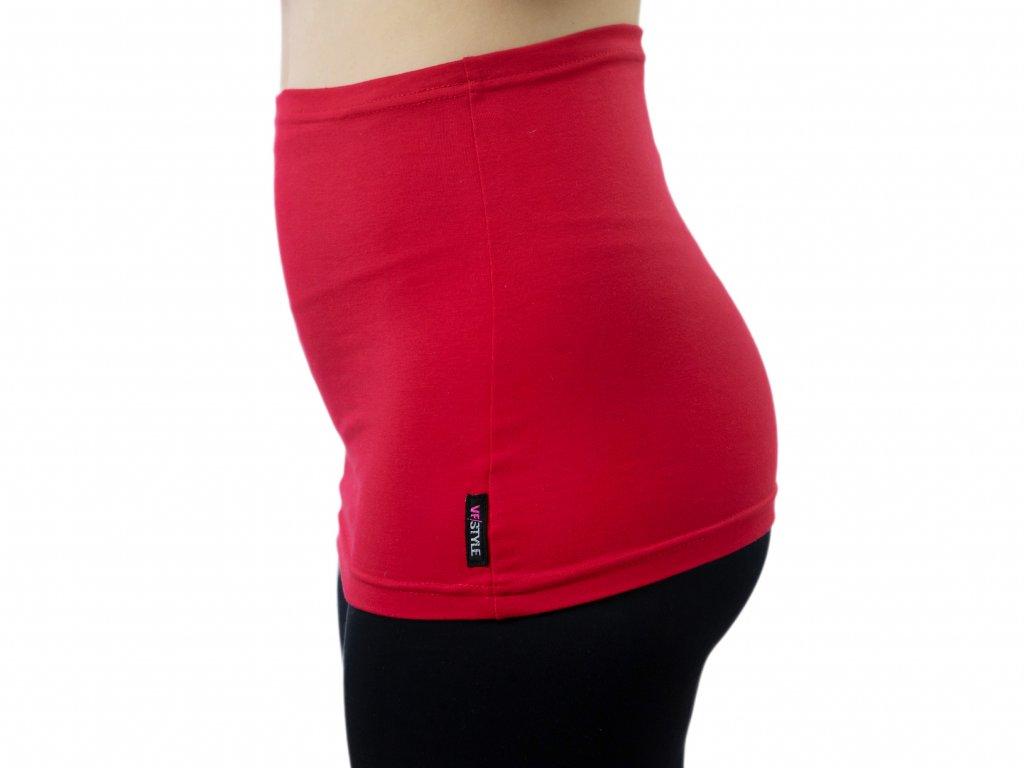 Ledvinový pás Comfort, červený