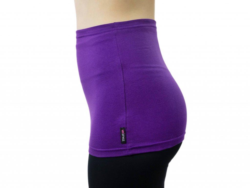 Ledvinový pás Comfort, fialový