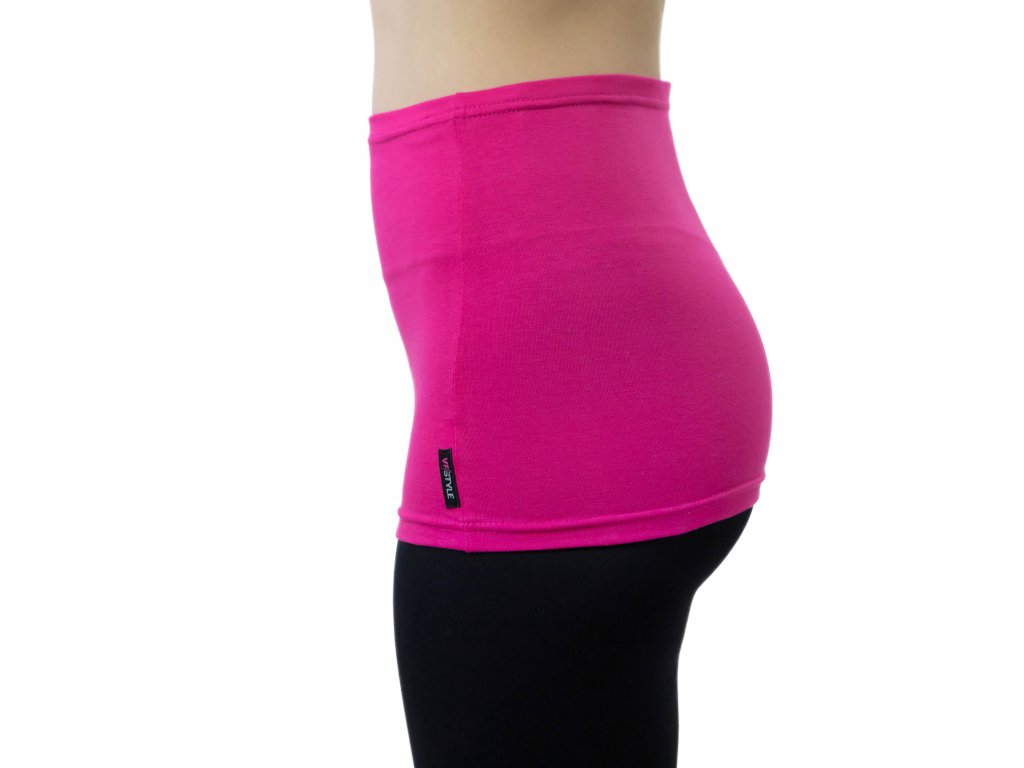 Ledvinový pás Comfort, růžový