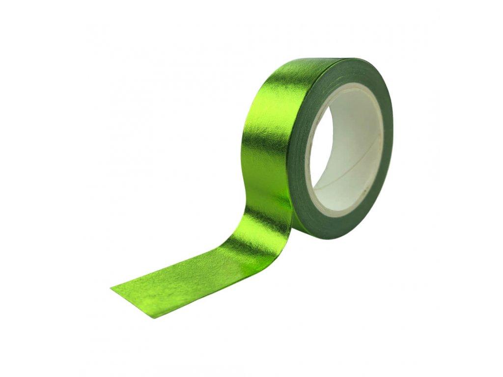 Ozdobná izolepa VFstyle zelená