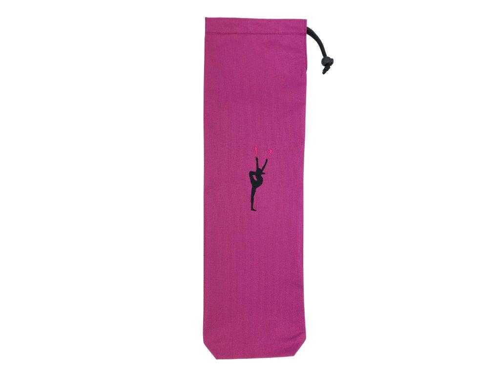 Obal na kužele VFstyle s gymnastkou fialový